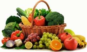 cos alimente fructe legume