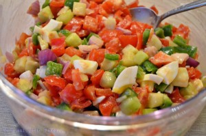 salata fructe legume oua fierte