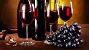 vin rosu struguri nuci