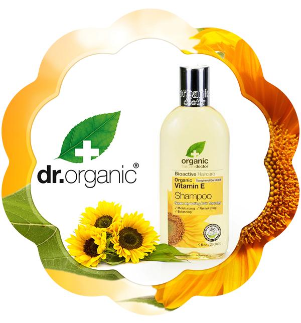 Șampon Bio Vitamina E Dr.Organic 265ml Ideal pentru toate tipurile de păr. Hrănește și calmează scalpul. Reglează nivelul de umiditate din firul de păr, oferindu-i strălucirea și sănătatea pe care o dorim cu toții.