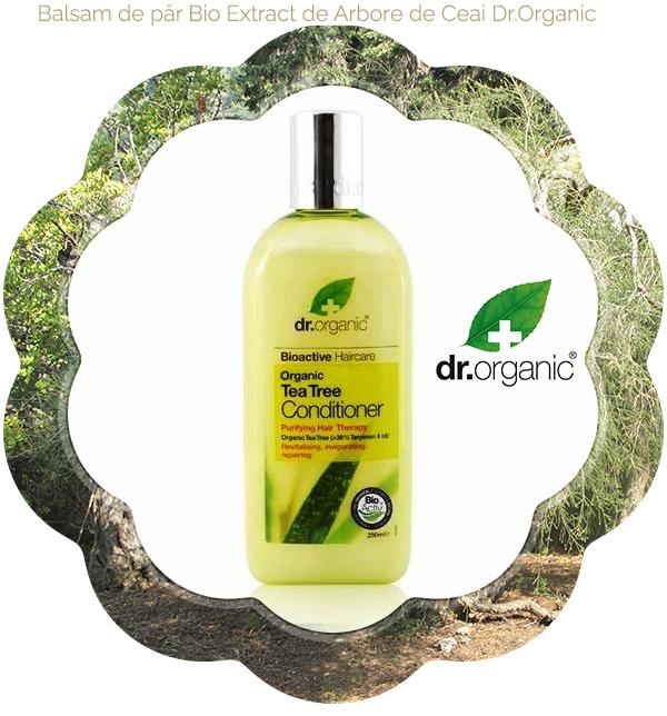2 Balsam de păr Bio Extract de Arbore de Ceai Dr.Organic