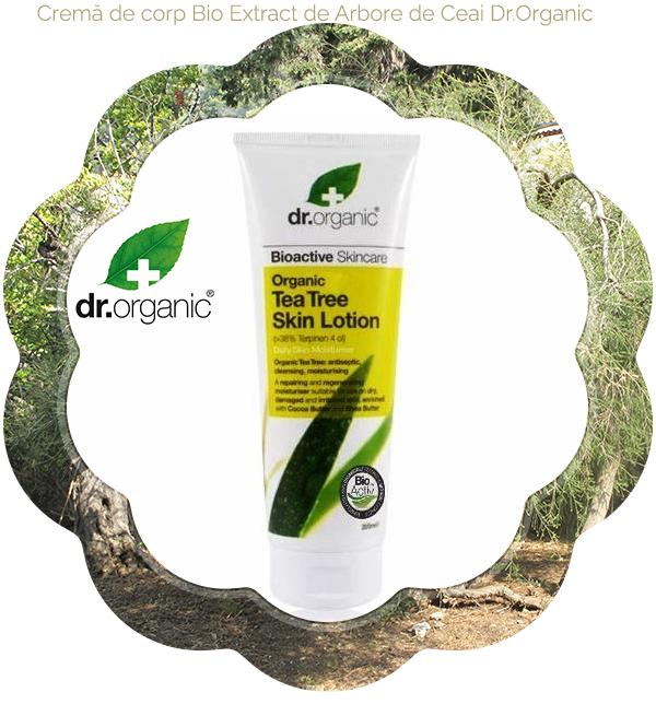 3 Crema de corp Bio Extract de Arbore de Ceai Dr.Organic