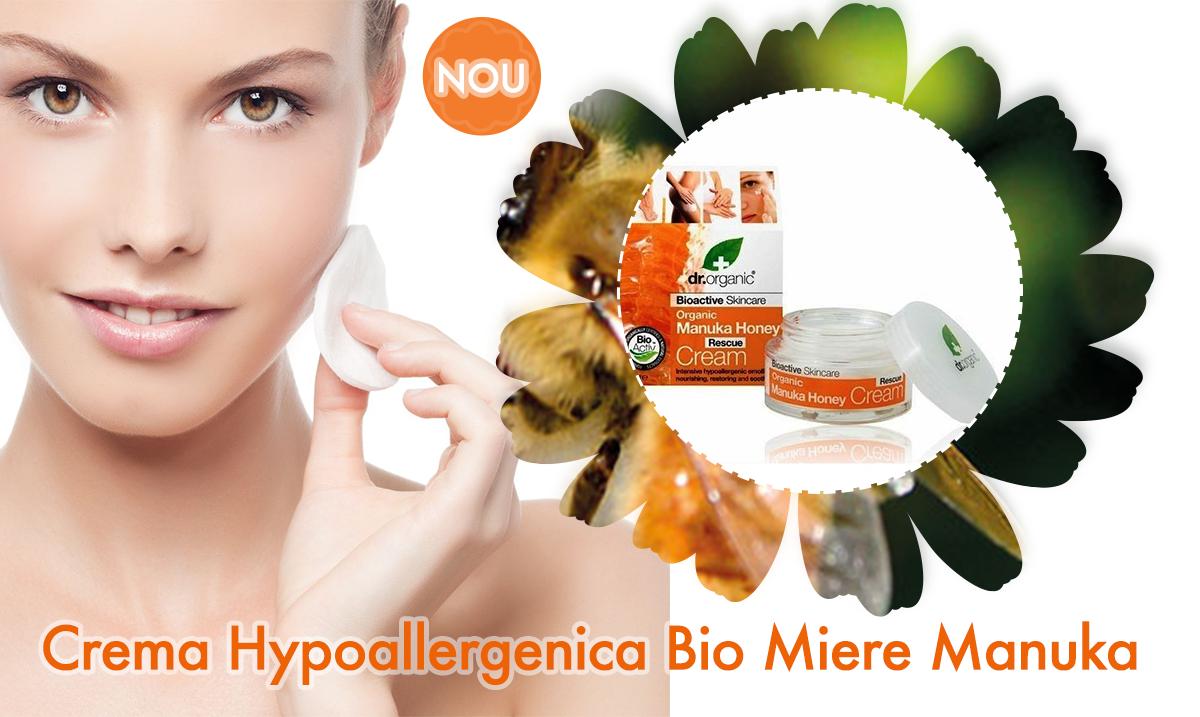 Crema Hypoallergenica Bio Miere Manuka