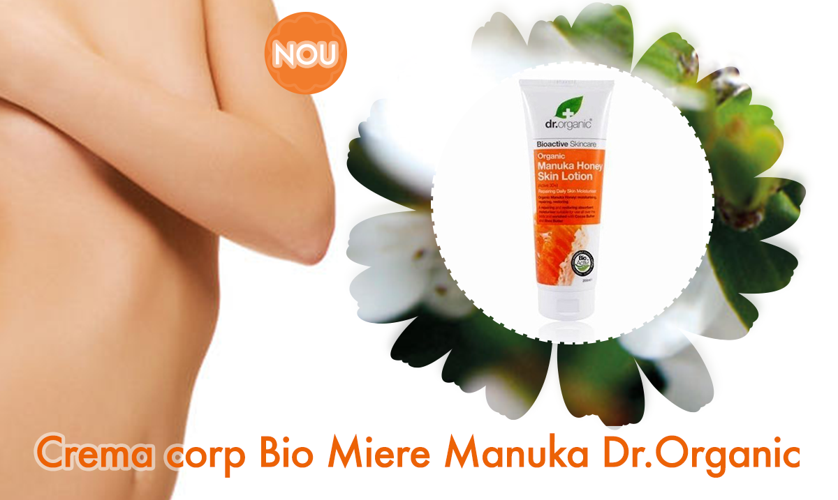 Crema corp Bio Miere Manuka Dr.Organic