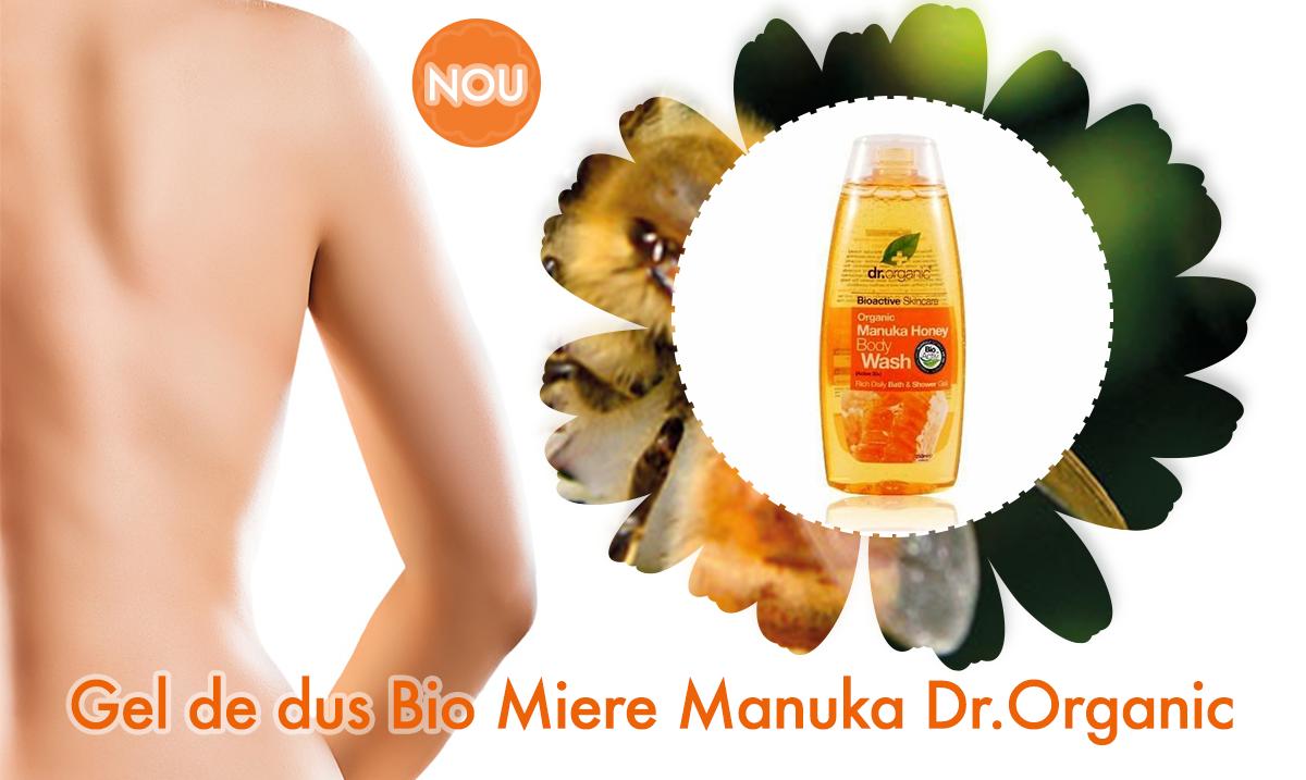 Gel de dus Bio Miere Manuka Dr.Organic