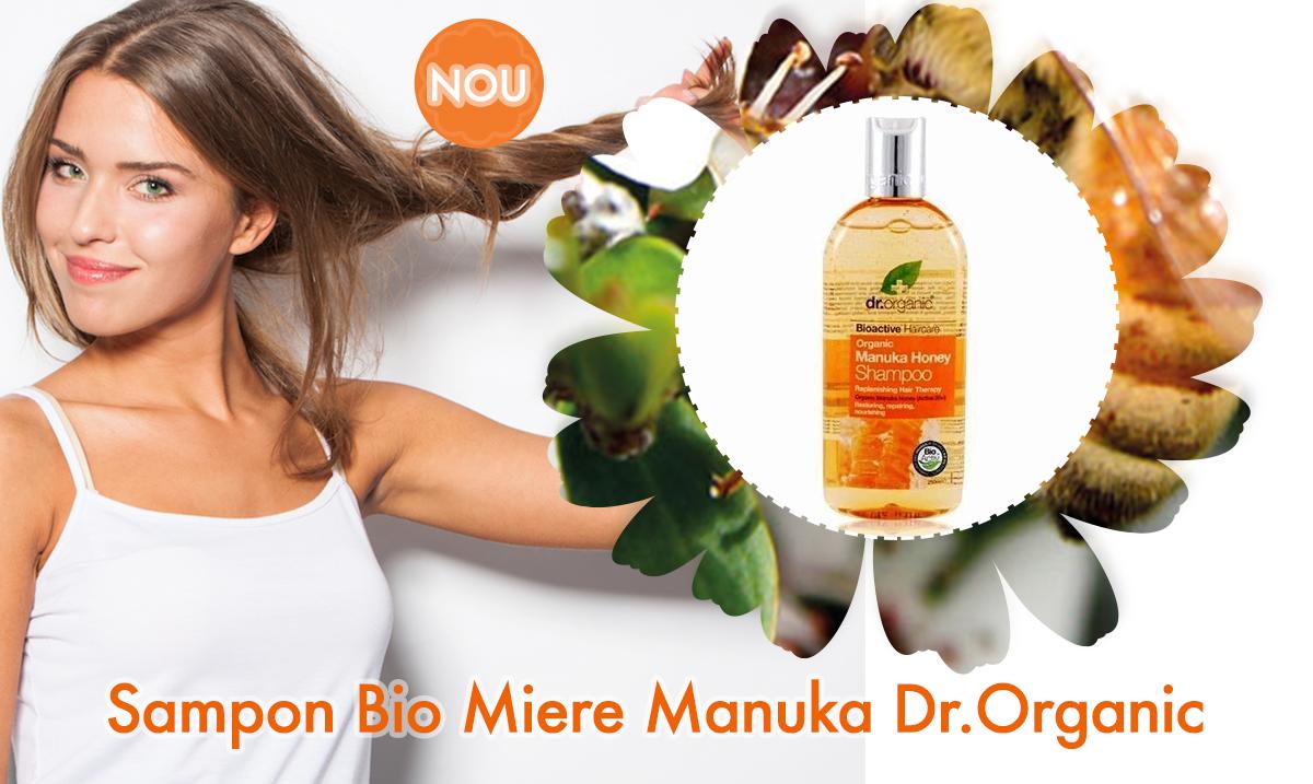 Sampon Bio Miere Manuka Dr.Organic
