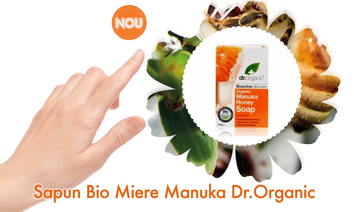 Sapun Bio Miere Manuka Dr.Organic