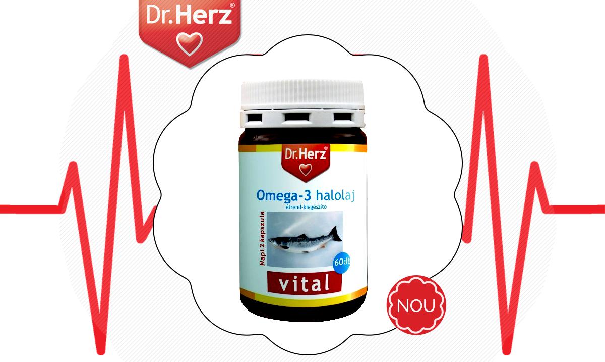 Uleiul de pește Omega 3 Dr.Herz