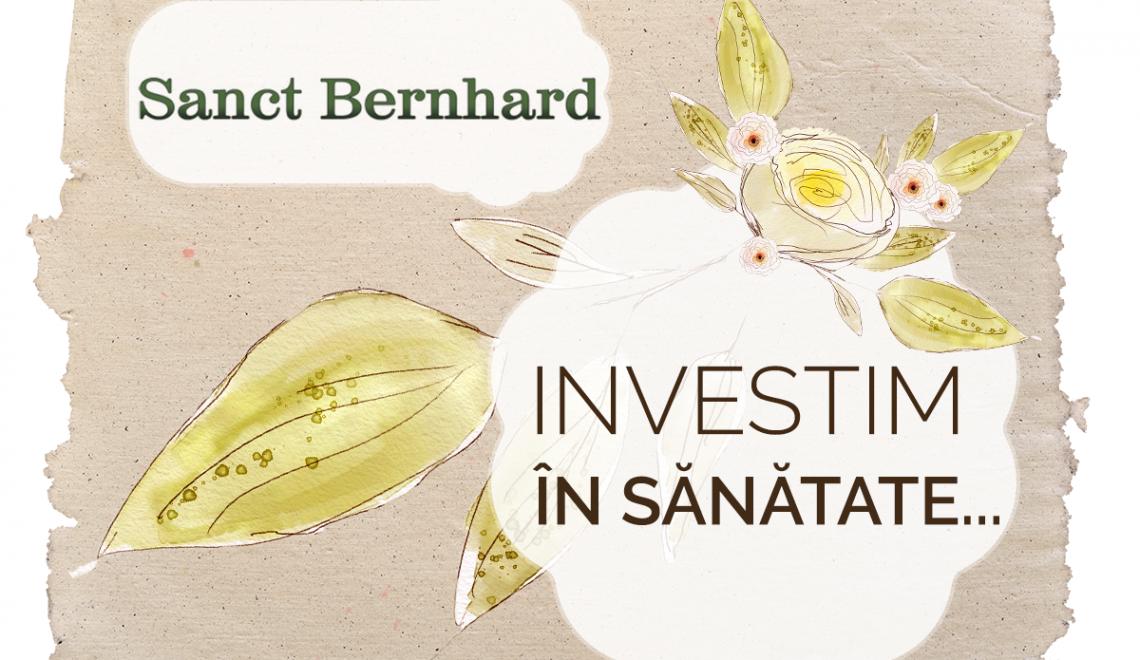 Mențineți-vă nivelul de colesterol cu produsele de la Sanct Bernhard