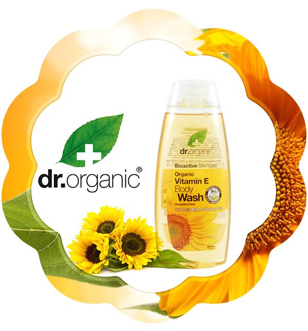 Gel de dus Bio Vitamina E Dr.Organic 250mlEste gelul de duș bogat în vitamina E, ce conferă o curățare calmă și atentă asupra pielii tale. Formula sa, te va proteja împotriva îmbătrânirii pielii și o hrănește, lăsând-o curată și netedă.