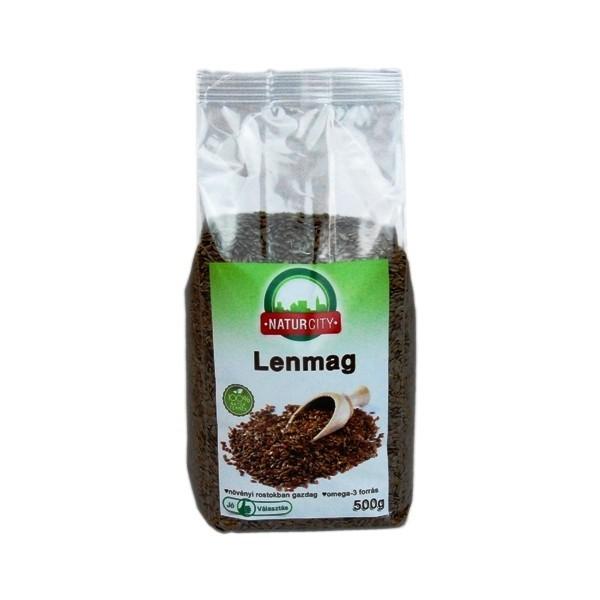 Seminte de in Naturcity Semințele de in sunt o resursă ideală de fibre dietetice și acizi grași, având în același timp un conținut ridicat de omega 3 și omega 6. Sunt ideale pentru lupta împotriva cancerului, încetinesc pierderea osoasă și controlează greutatea.