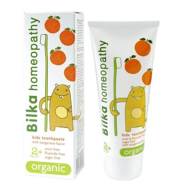 Pasta de dinti pentru copii Bilka Homeopathy Organic 2+ 50ml