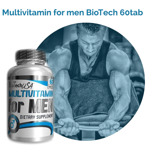 Multivitamin for Men BioTech