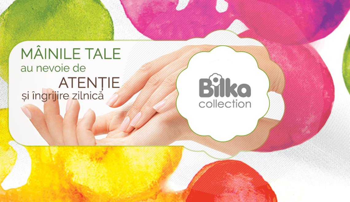 Îngrijește-ți mâinile și unghiile cu produsele de la Bilka